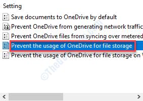 Prevent The Usage Onedrive Dc Min