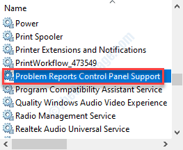 Problem Reports Services Dc Min