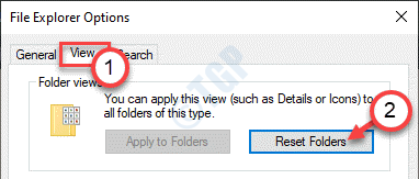 Reset Folders View Min