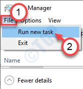 Run New Task Min