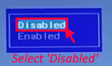 Select Disabled Min