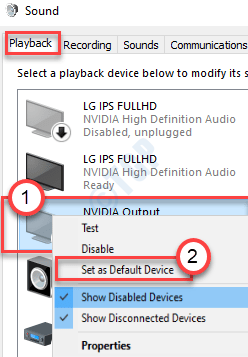 Set As Default Device Min