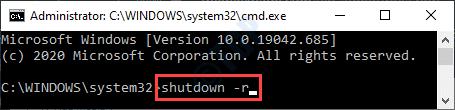 Shutdown R Min