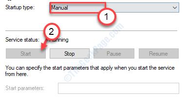 Start Manual Min