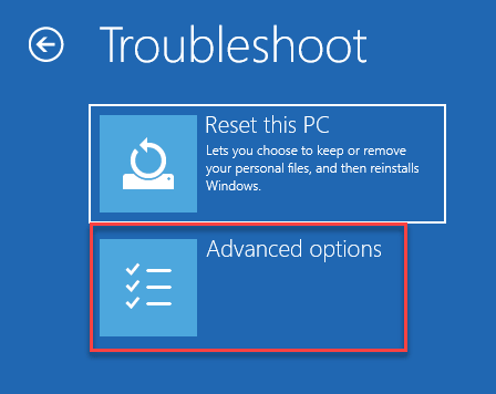 Troubleshoot Reset This Pc Advanced Options Startup Repair Min Min