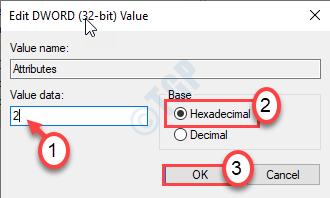 Value Data Hex Ok