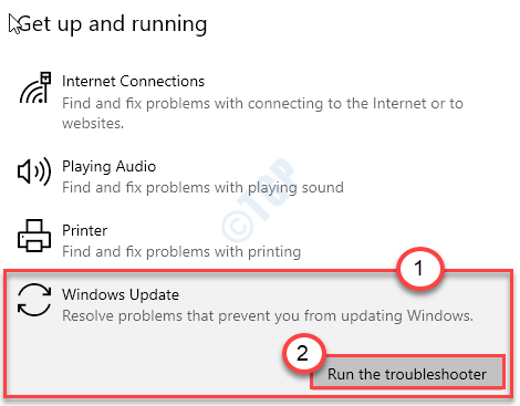 Windows Update Troubleshooter New Min