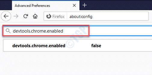 Advanced Preferences Search Bar Devtools.chrome.enabled