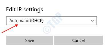 Automatic Dhcp