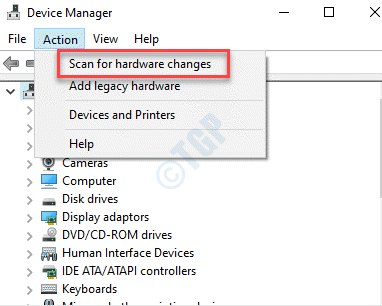 Device Manager Action Scan For Hardware Changes