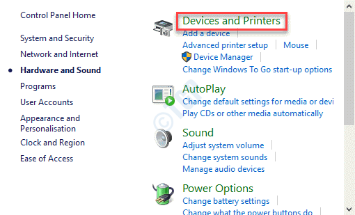 Hardware And Sound Devices And Printers