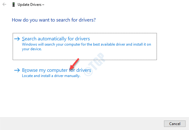 Print Queues How Do You Want To Search For Drivers Browse My Computer For Drivers