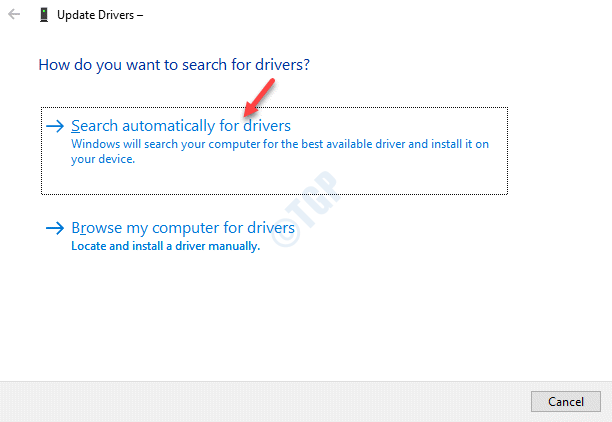 Print Queues How Do You Want To Search For Drivers Search Automatically For Drivers