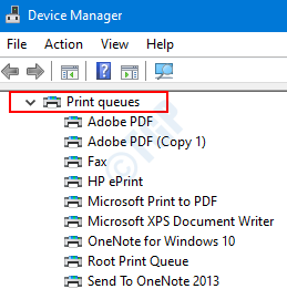 Printers In Device Manager