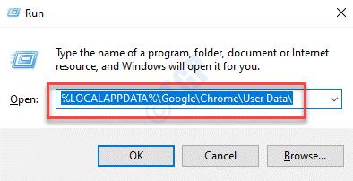 Run Command Paste Command To Delete Chrome User Profile Enter