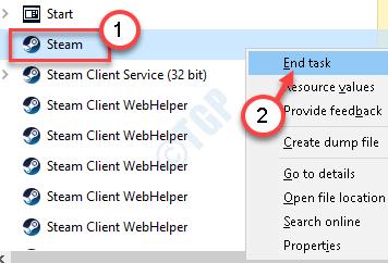 Steam End Process Min