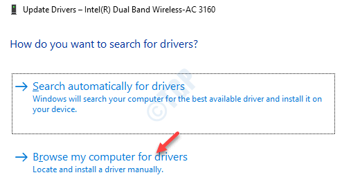 Update Drivers Browse My Computers For Drivers