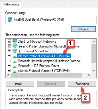 Wifi Properties Networking Internet Protocol Version 4 Properties