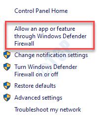 Windows Defender Firewall Allow An App Or Feature Through Windows Defender Firewall