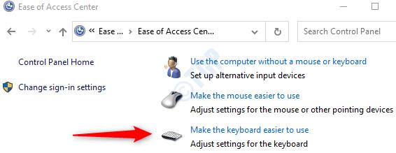 Choose Make It Easier To Type