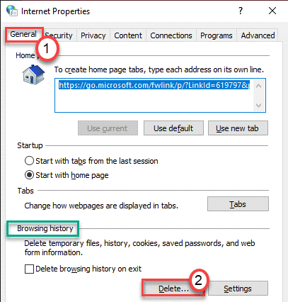 Delete Browsing History Min