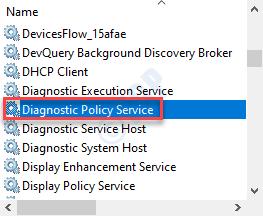 Diagonstics Policy Service Min
