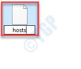Hosts File Rename Change