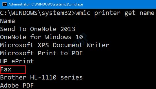 Printer Lit In Cmd