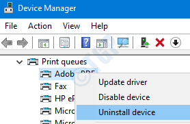 Remove Printer From Device Management