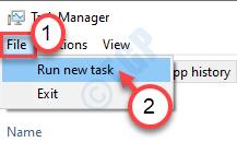 Run New Task Min Min