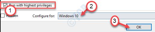Run With Highest Privileges Windows 10 Ok Min