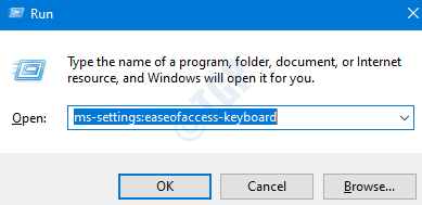 Settings Ease Of Access Keyboard