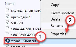 Steam Short Props Min