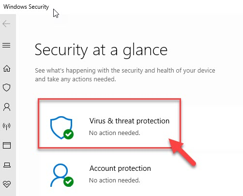 Virus And Threat Protection Min