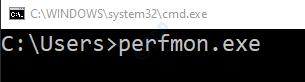 cmd-perfmonexe