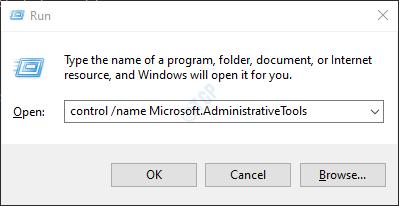 run command admin tools