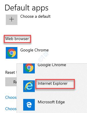 Apps Settings Default Apps Web Browser Internet Explorer
