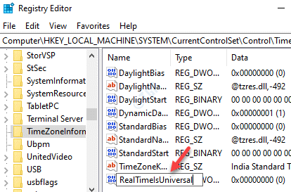 Dword (32 Bit) Value Rename Realtimeisuniversal