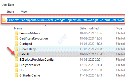 File Explorer User Data Default Folder Delete