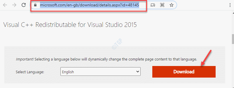 Official Microsoft Page For Visual C Redistributable For Visual Studio 2015 Download