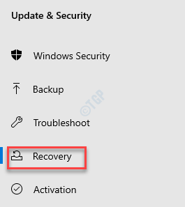 Settings Update & Security Recovery