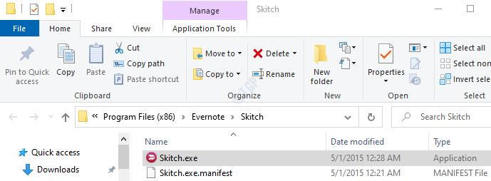Skitch Sample