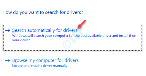 Update Drivers Search Automatically For Drivers