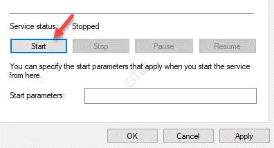 Windows Time Properties General Service Status Start