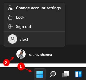 Accounts Windows 11 Min