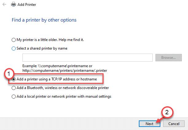Add A Printer Ip Address Min