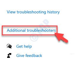 Additional Troublehshooter Min Min