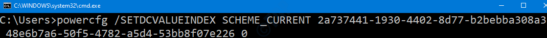 Cmd Disable On Battery