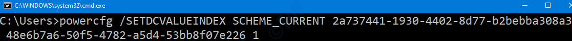 Cmd Enable On Battery