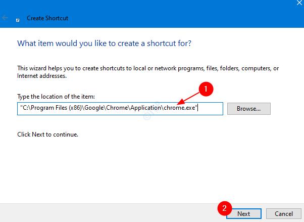 Example Chrome